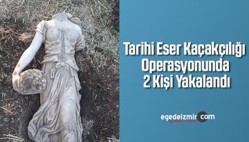 Tarihi Eser Kaçakçılığı Operasyonunda 2 Kişi Yakalandı