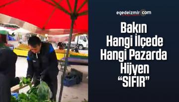 İzmir Pazarlarında Ne Maske Var Ne Sosyal Mesafe ! Görüntüler Bu Güne Aittir