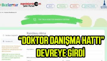 """İzmir """"Doktor Danışma Hattı"""" Adı Altındaki Sistemini Açtı"""
