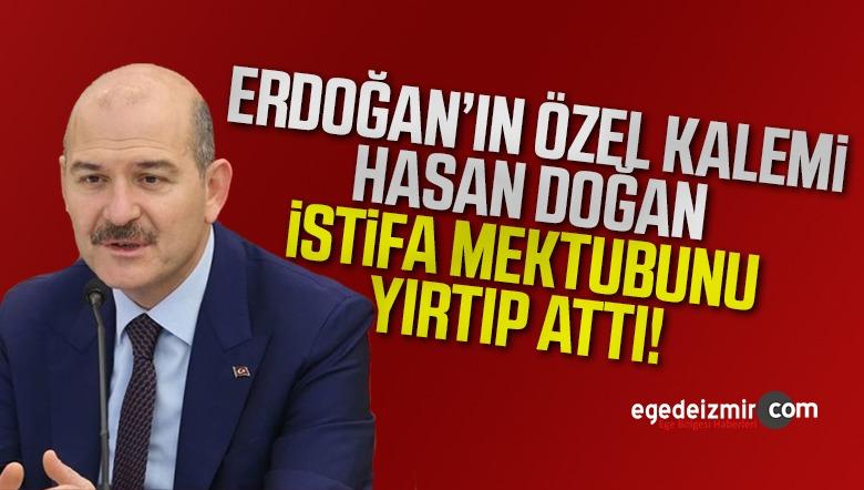 Erdoğan'ın Özel Kalemi istifa Mektubunu Yırtıp Attı! işte Ayrıntılar