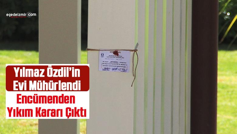 Yılmaz Özdil'in Evi Mühürlendi Encümenden Yıkım Kararı Çıktı
