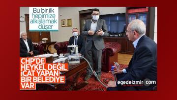 CHP'li Çiğli Belediyesi solunum cihazı üretti