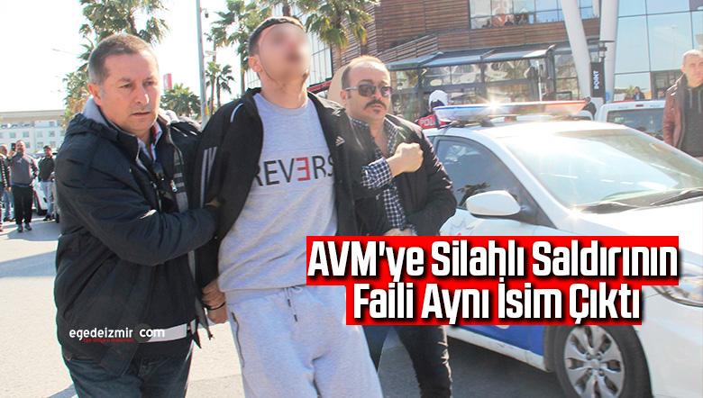 AVM'ye silahlı saldırının faili aynı isim çıktı