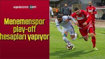 Menemenspor, play-off hesapları yapıyor
