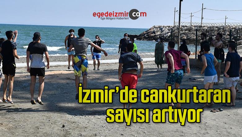 İzmir'de cankurtaran sayısı artıyor