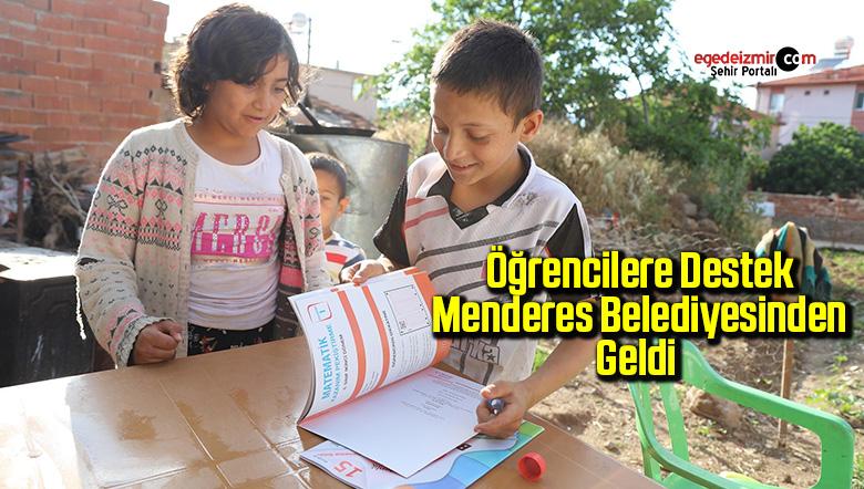 Öğrencilere destek Menderes Belediyesinden