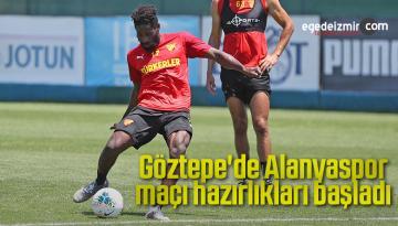 Göztepe'de Alanyaspor maçı hazırlıkları başladı