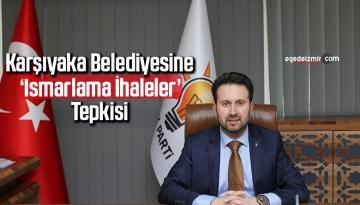 Karşıyaka Belediyesine 'ısmarlama ihaleler' tepkisi