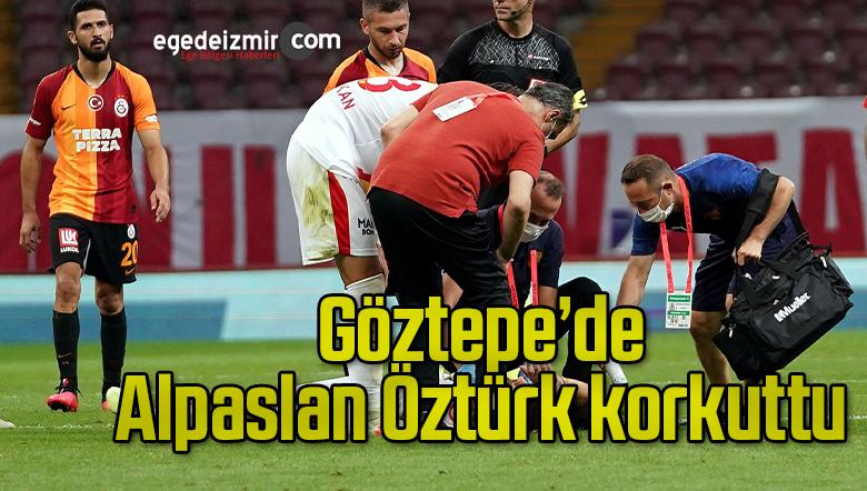 Göztepe'de Alpaslan Öztürk korkuttu