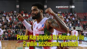 Pınar Karşıyaka, DJ Kennedy ile 2 yıllık sözleşme yeniledi