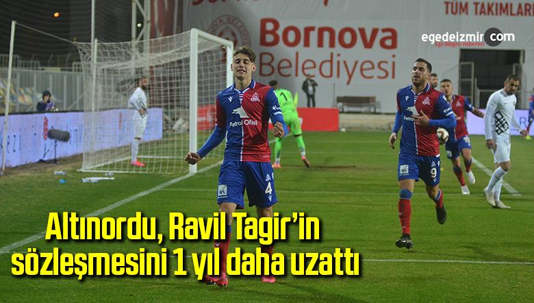 Altınordu, Ravil Tagir'in sözleşmesini 1 yıl daha uzattı