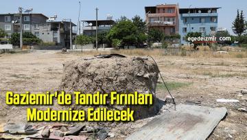 Gaziemir'de tandır fırınları modernize edilecek