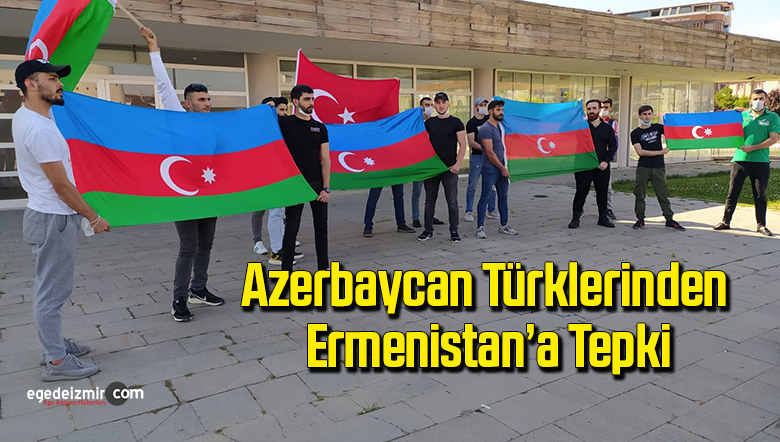 Azerbaycan Türklerinden Ermenistan'a tepki