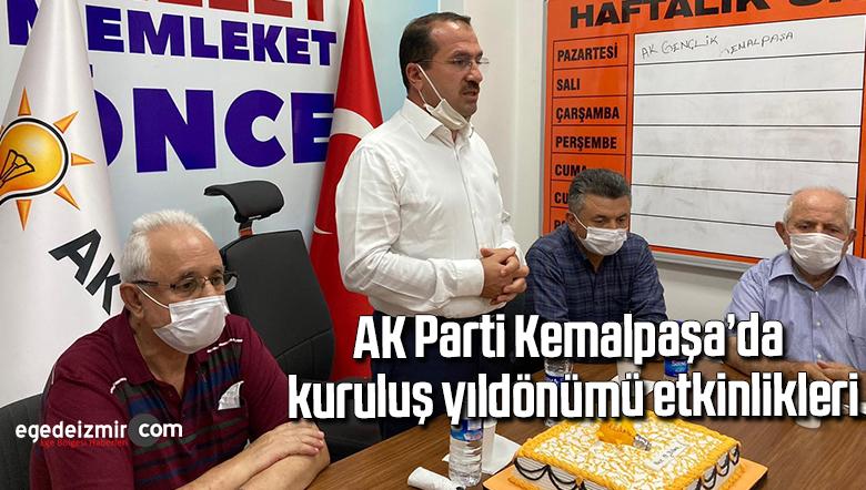 AK Parti Kemalpaşa'da kuruluş yıldönümü etkinlikleri