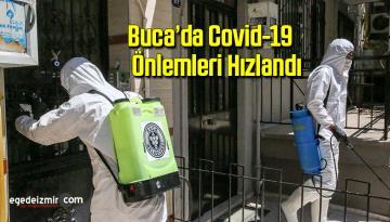 Buca'da Covid-19 önlemleri hızlandı