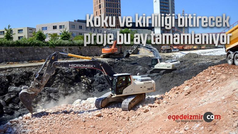 Koku ve kirliliği bitirecek proje bu ay tamamlanıyor