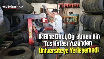 Türkiye'de ilk bine girdi, öğretmeninin tuş hatası yüzünden üniversiteye yerleşemedi