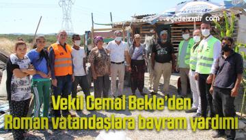 Vekil Cemal Bekle'den Roman vatandaşlara bayram yardımı