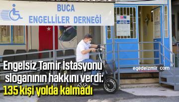 Engelsiz Tamir İstasyonu sloganının hakkını verdi: 135 kişi yolda kalmadı