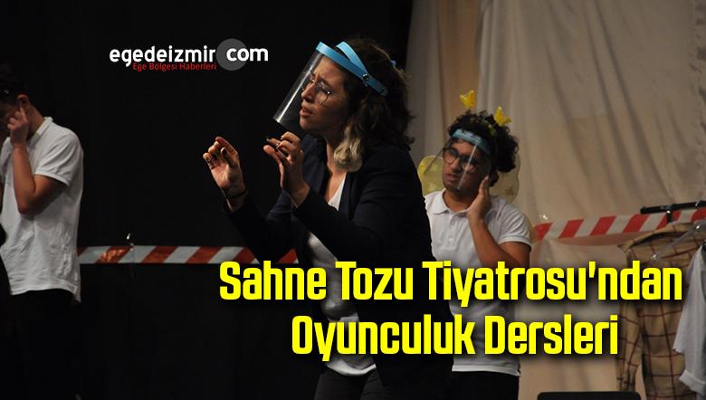 Sahne Tozu Tiyatrosu'ndan oyunculuk dersleri
