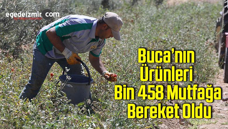 Buca'nın ürünleri bin 458 mutfağa bereket oldu