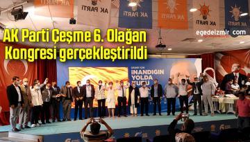 AK Parti Çeşme 6. Olağan Kongresi gerçekleştirildi