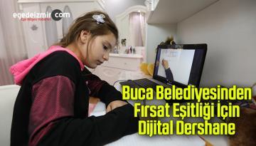 Buca Belediyesinden fırsat eşitliği için Dijital Dershane