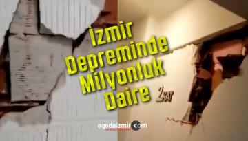 İzmir Depreminde Milyonluk Dairenin Hali Yürek Burktu