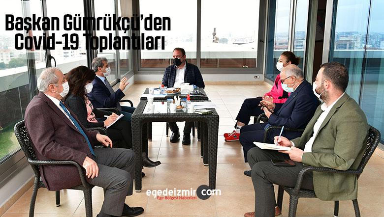 Başkan Gümrükçü'den Covid-19 Toplantıları