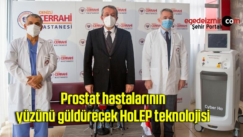 Prostat hastalarının yüzünü güldürecek HoLEP teknolojisi