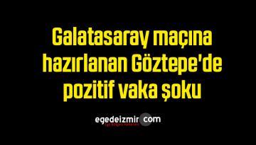 Galatasaray maçına hazırlanan Göztepe'de pozitif vaka şoku