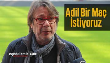 Mehmet Sepil Hakemden Adil Bir Maç Yönetimi Bekliyor