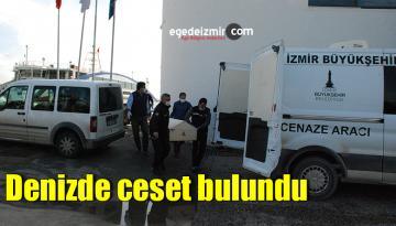 İzmir'in Karşıyaka İlçesinde Denizde ceset bulundu
