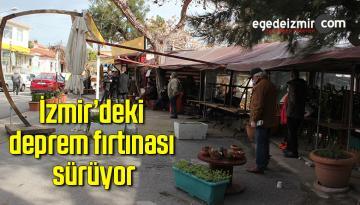 Karaburun'da bazı dükkanlar tedbir amaçlı boşaltıldı