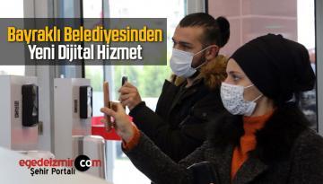 Bayraklı Belediyesi Dijital Hizmetlerine Yenisini Ekledi