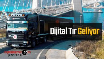 Dijital Tır 30 Mart-2 Nisan Arasında Aydın'da Olacak