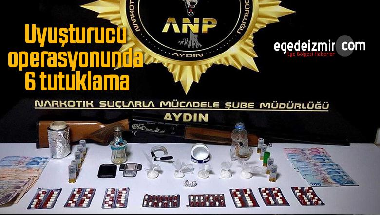 Uyuşturucu İle Mücadele Devam Ediyor, 6 Şüpheli Tutuklandı