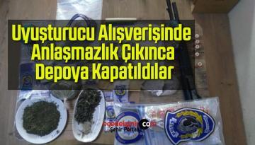 Uyuşturucu Alışverişinde Anlaşmazlık Çıkınca Depoya Kapatıldılar