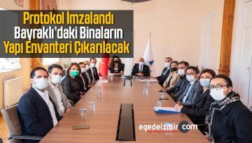 Büyükşehir Belediyesi İnşaat Mühendisleri Odası ile Protokol İmzaladı