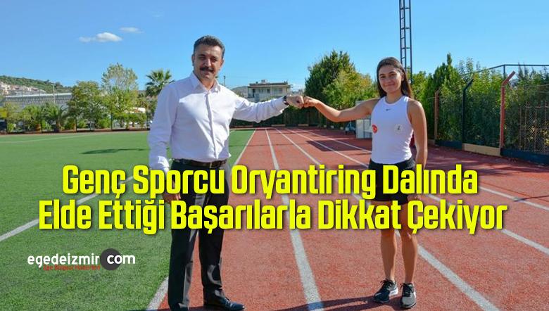 Genç Sporcu Oryantiring Dalında Elde Ettiği Başarılarla Dikkat Çekiyor