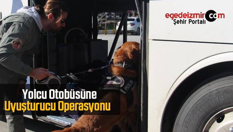 Yolcu Otobüsüne Uyuşturucu Operasyonu Düzenlendi