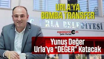 """AK Partili Yunus Değer Urla Belediyesine """"Değer"""" Katacak"""