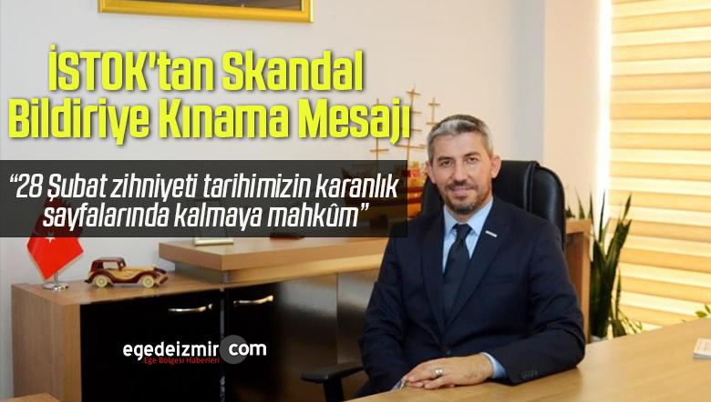 İSTOK'tan Skandal Bildiriye Kınama Mesajı