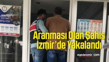 Terör Örgütüne Üye Olma Suçundan Aranan Şahıs İzmir'de Yakalandı