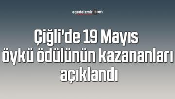 Çiğli'de 19 Mayıs öykü ödülünün kazananları açıklandı