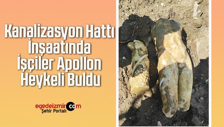 Kanalizasyon Hattı İnşaatında İşçiler Apollon Heykeli Buldu