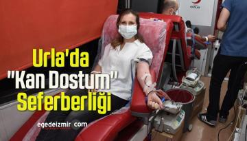 """Urla'da """"Kan Dostum"""" Seferberliği"""