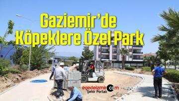 Gaziemir'de Köpeklere Özel Park