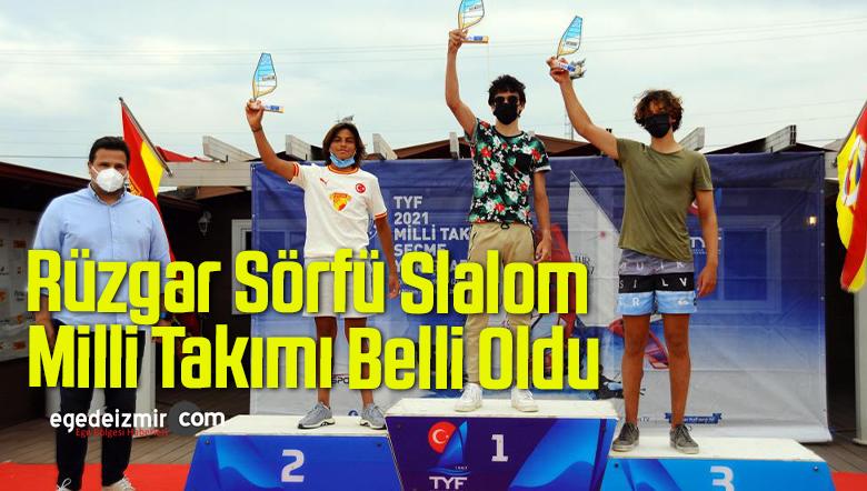 Rüzgar Sörfü Slalom Milli Takımı Belli Oldu