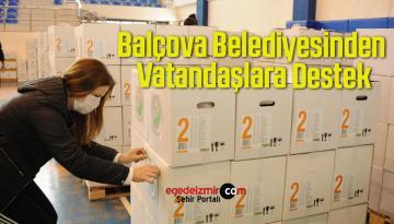 Balçova Belediyesinden Vatandaşlara Destek